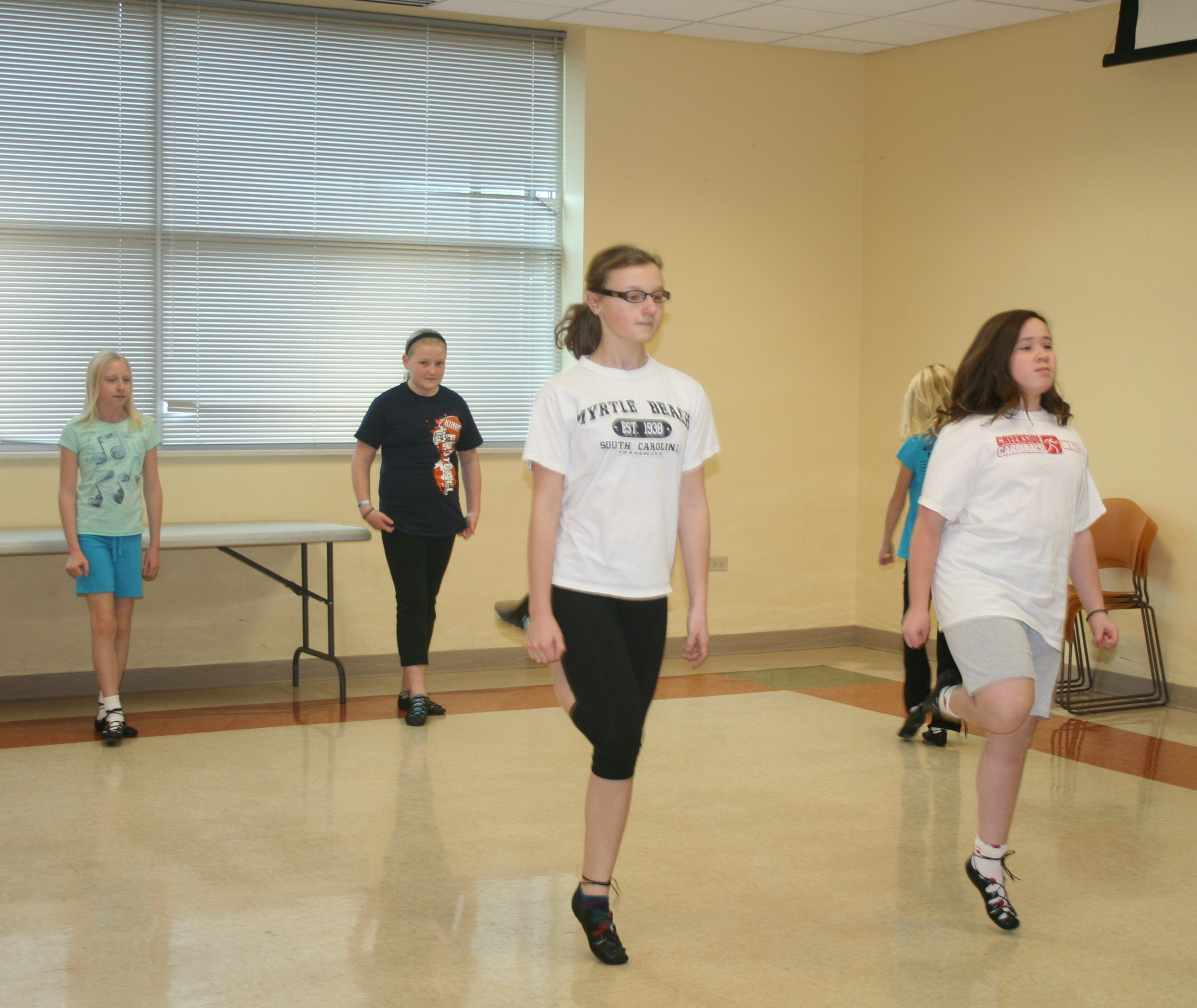 Club magazine, Irish step dance adult beginner classes billing support